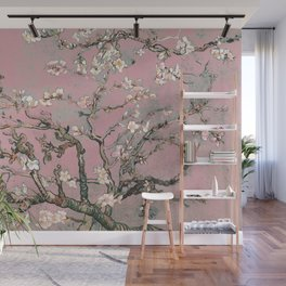 Almond Blossom - Vincent Van Gogh (pink pastel) Wall Mural