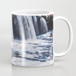 Waterfall in Minnesota-Long Exposure Photography Coffee Mug