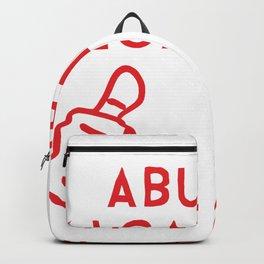 Abuelo Alcahuete for Hispanic Grandfathers Backpack