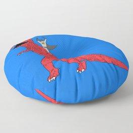 Dinosaur B Forever Floor Pillow