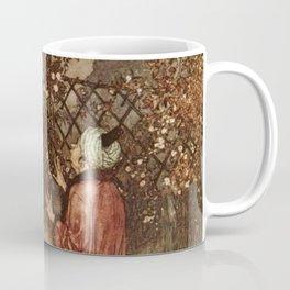 He Dropped The Rose by Edmund Dulac Coffee Mug