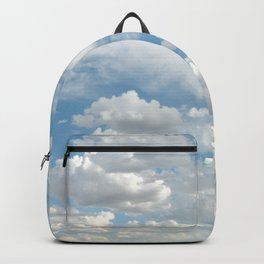 Clouds in a Blue Sky Backpack