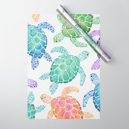 Sea Turtle - Colour Wrapping Paper
