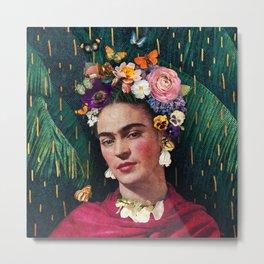 Frida Kahlo :: World Women's Day Metal Print