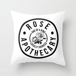 Rose Apothecary. Ew david gift. Rosebud motel Throw Pillow