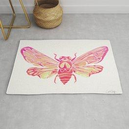 Summer Cicada – Pink Palette Rug