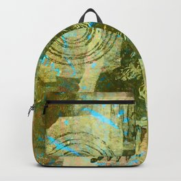 Scrappy Collage Backpack
