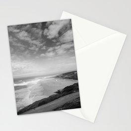 Praia do Norte BW Stationery Cards