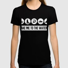Take Me To The Waters Watersports Tee T-shirt