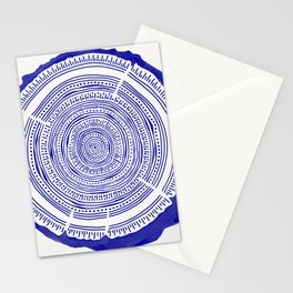 Douglas Fir – Navy Stationery Cards