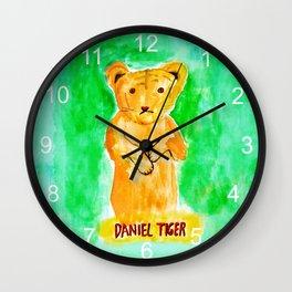 daniel tiger Wall Clock