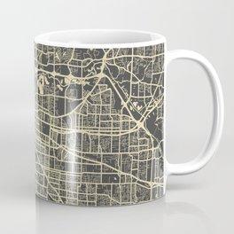 Memphis map yellow Coffee Mug