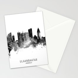 Ulaanbaatar Mongolia Skyline Stationery Cards