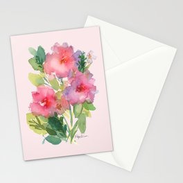 Windsor Red Roses Stationery Cards