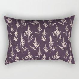 Astilbe Purple Rectangular Pillow