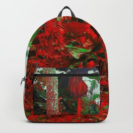 Singapore Bot. Garden 1 - RED Backpack