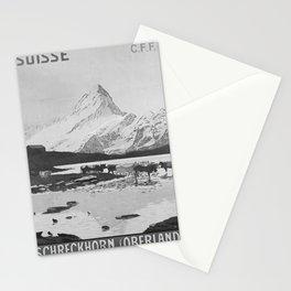 cartaz Schreckhorn Oberland Stationery Cards