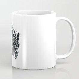 Machine Illustration Coffee Mug