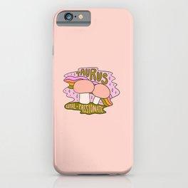 Taurus Mushroom iPhone Case