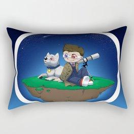 Levitating Island of Awesomeness Rectangular Pillow