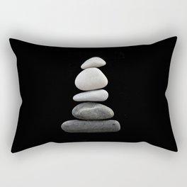 balance pebble art Rectangular Pillow