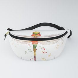 Colorful Dragonfly  Fanny Pack
