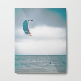 Kite surf Metal Print