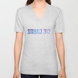 Bookish Squad 312 Aurora Rising Unisex V-Neck