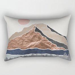 Mount Hood Oregon - Daylight Wilderness Rectangular Pillow