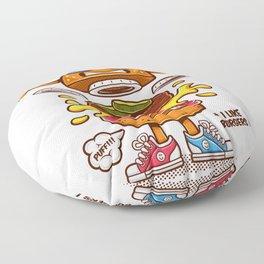 Cool Burger Floor Pillow