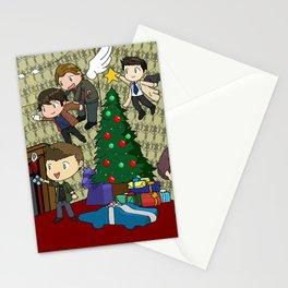 SuperWhoLock Christmas Stationery Cards
