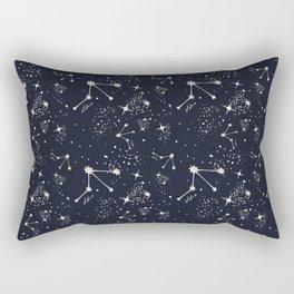 Zodiac Constellations - Libra Rectangular Pillow