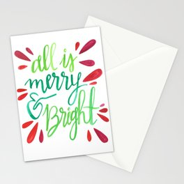 All is Merry and Bright Stationery Cards