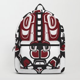 Pacific Northwest Turtle, Coastal tortoise tortuga formline design Backpack