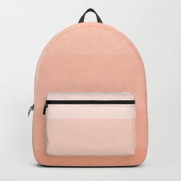 Soft Pastel Peach Hues - Color Therapy Backpack