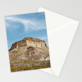 Mesa in Big Bend Ranch State Park Stationery Cards