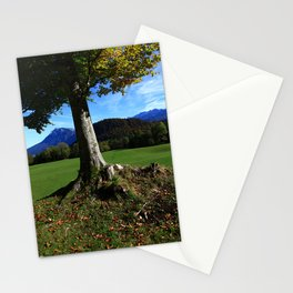 Alpine tree 2 Stationery Cards