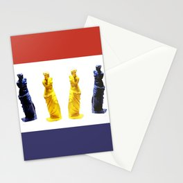 french venus colors Stationery Cards