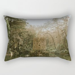 Castle in the Water Rectangular Pillow