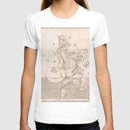 Johann Bayer - Uranometria / Measuring the Heavens (1661) - 13 Ophiuchus the Serpent-Bearer T-shirt