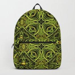 Green Streaks, Golden Orbs Backpack