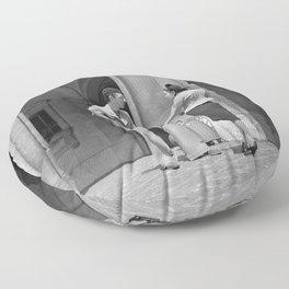 Studenten begroeten elkaar, Bestanddeelnr 254 2099 Floor Pillow