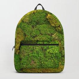 Green moss carpet No2 Backpack