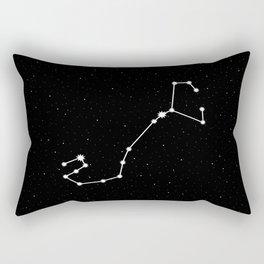 Scorpio Star Sign Night Sky Rectangular Pillow