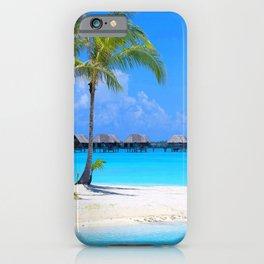 Tropical Island iPhone Case