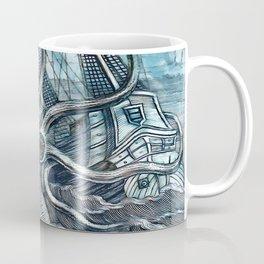 Sea Monster Coffee Mug