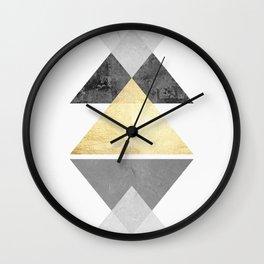 Texture Composition III Wall Clock