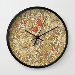 "John Henry Dearle ""Golden Lily"" 2. Wall Clock"