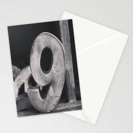 Number Crazy #9 Stationery Cards