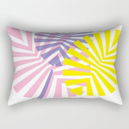 Triplet Rectangular Pillow